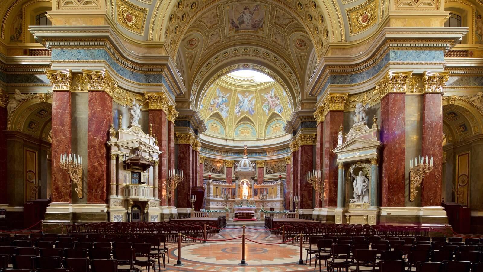 Catedrala Sf Stefan, Budapesta - interior