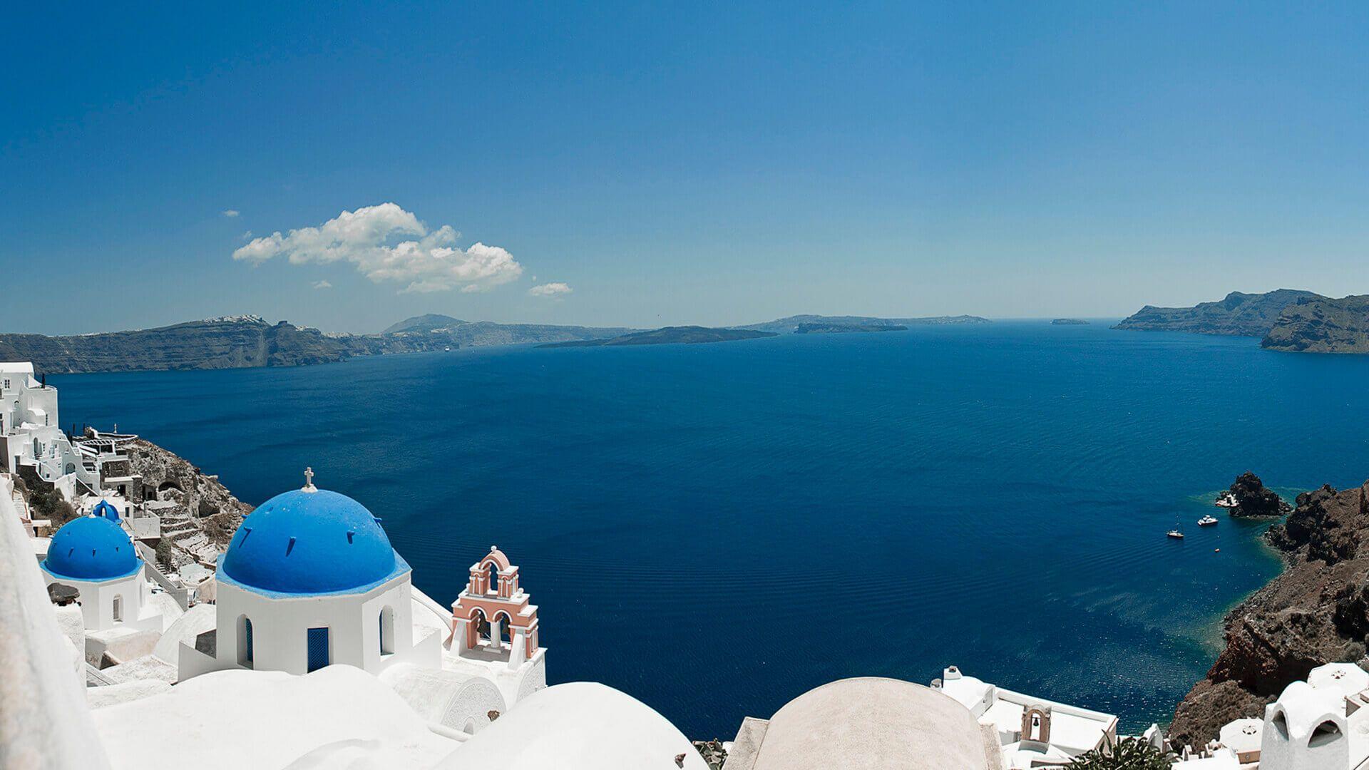 Panorama Santorini - Grecia