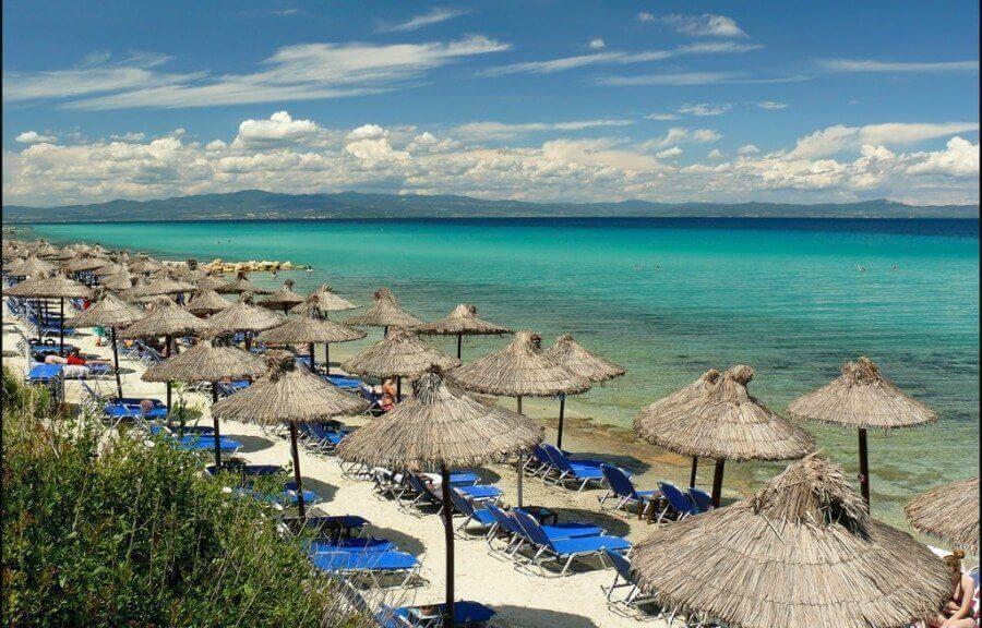 Plaja in Afytos - Halkidiki