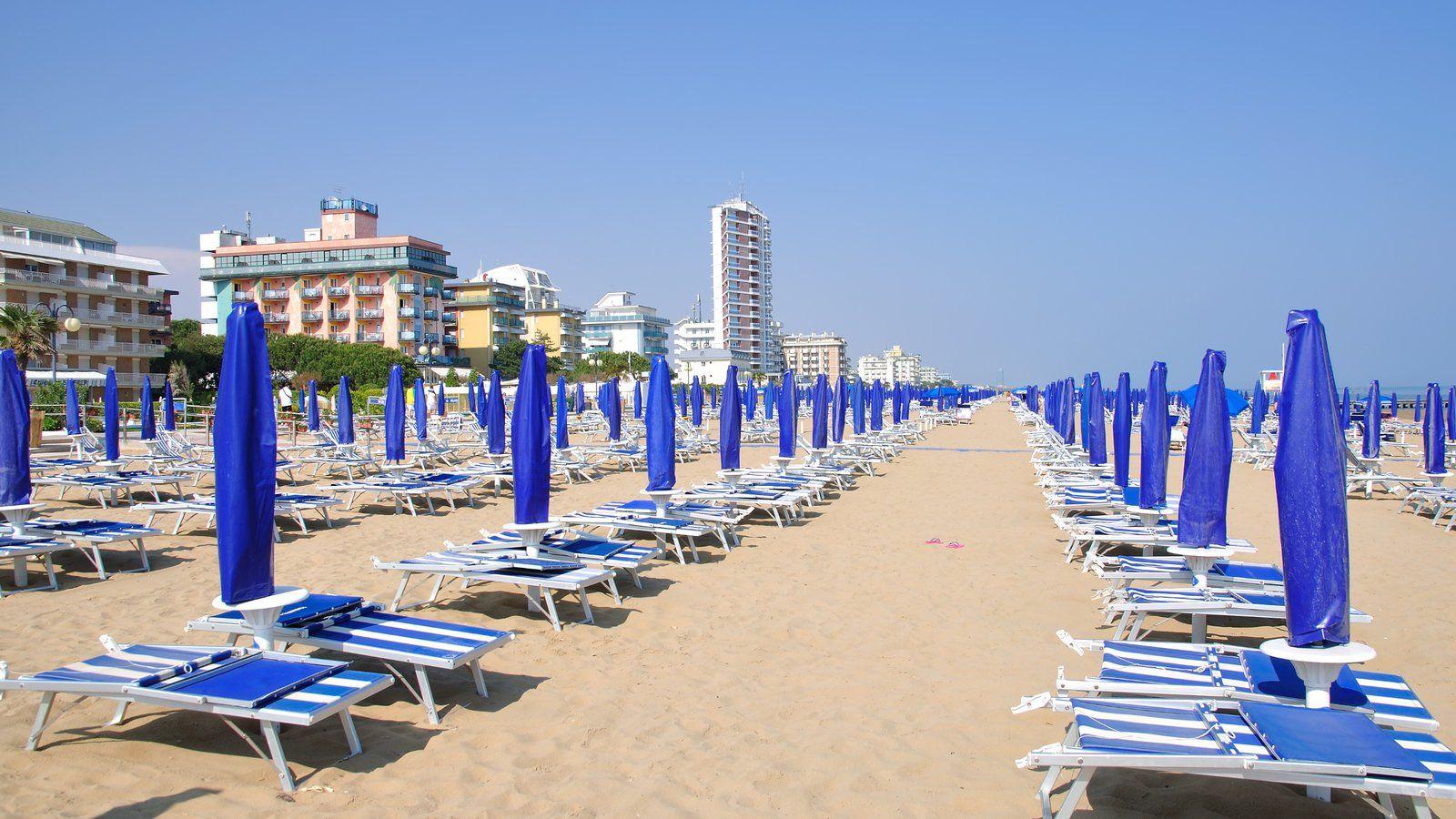 Plaja in Lido di Jesolo, Italia