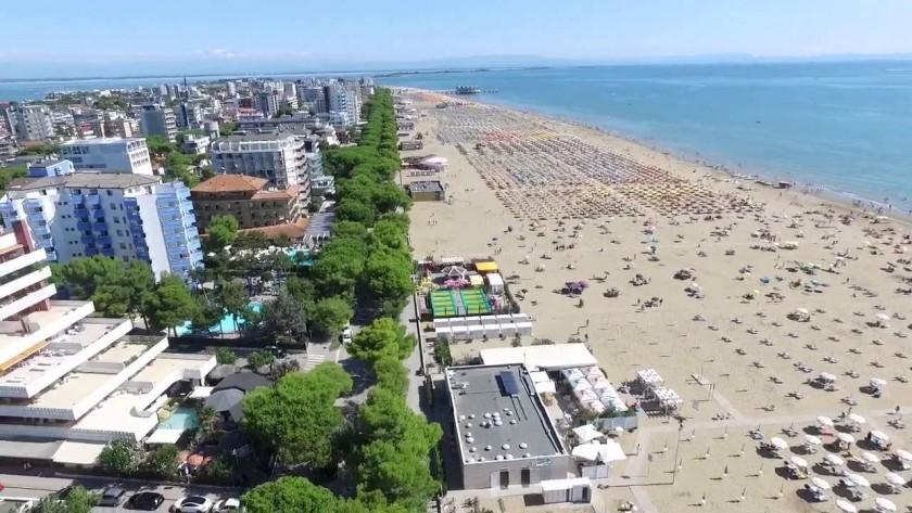 Plaja in Lignano Sabbiadoro - Italia