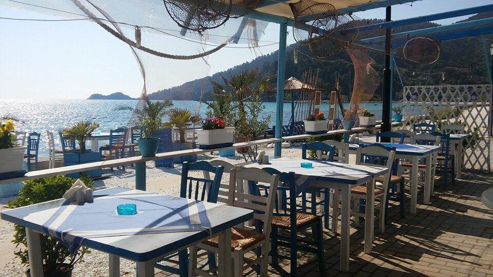 Taverna Flisvos - Skala Potamia, Thassos