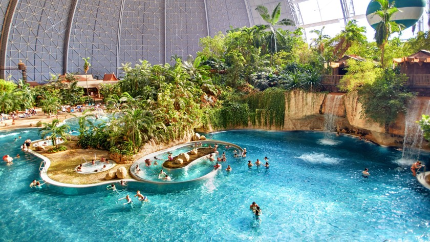 Tropical Islands - interior