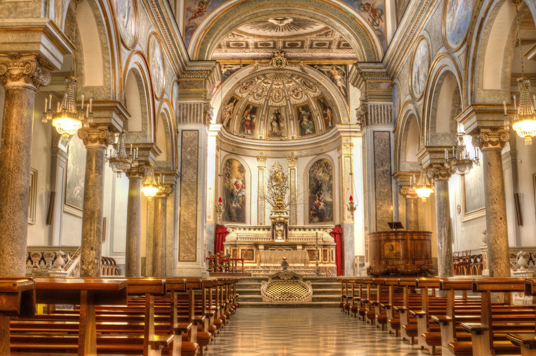 Basilica San Antonino - Sorrento