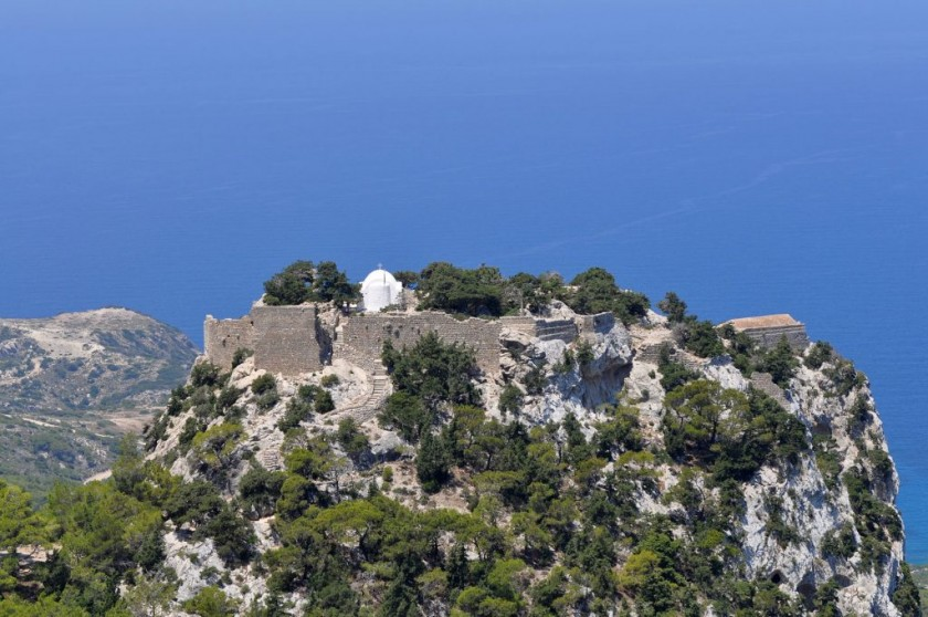 Castelul Monolithos - Rhodos, Grecia