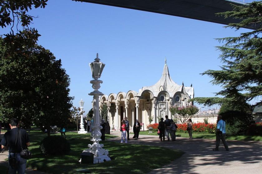 Palatul Beylerbeyi, Istanbul - gradina