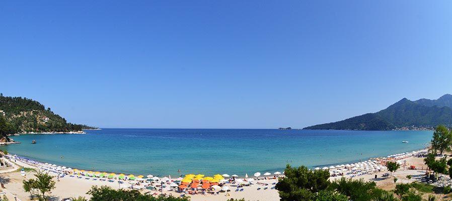 Plaja Golden Beach - Thassos