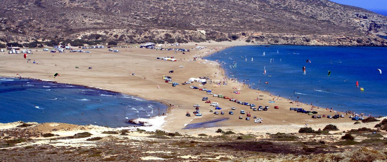 Plaja Prasonissi - Rhodos