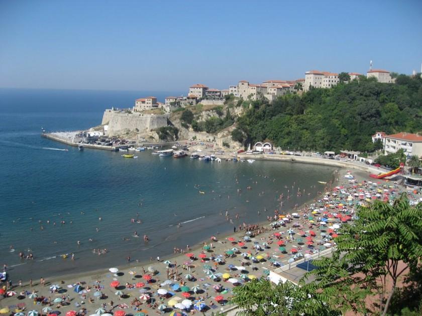 Plaja Ulcinj - Muntenegru