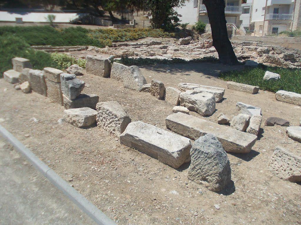 Ruinele templului lui Ammon Zeus - Kallithea