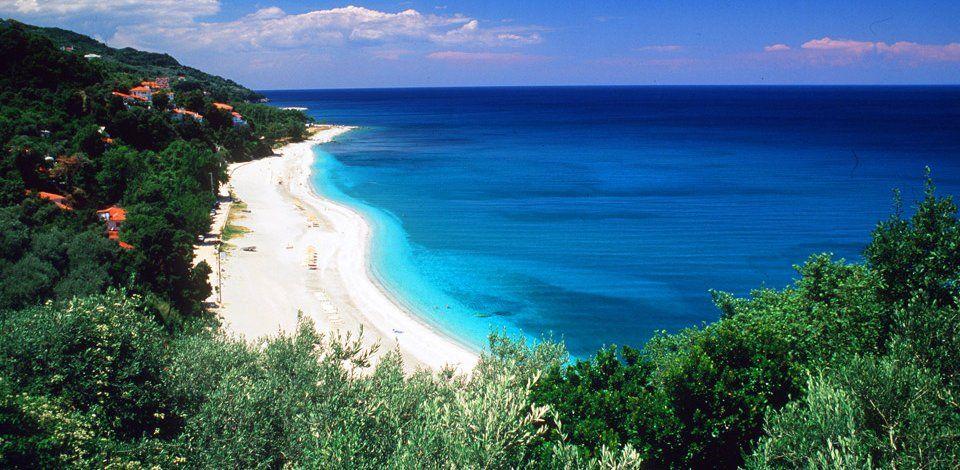 Plaja Papa Nero - Pelion, Grecia