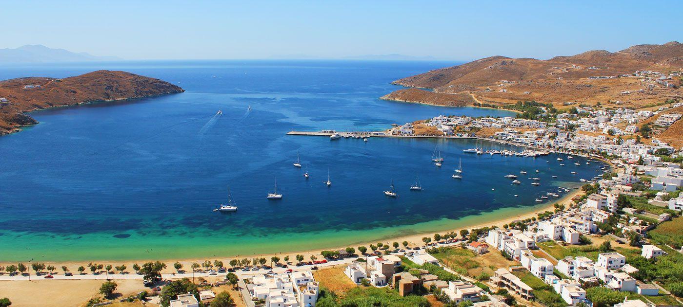 Plaja Psili Ammos - insula Serifos