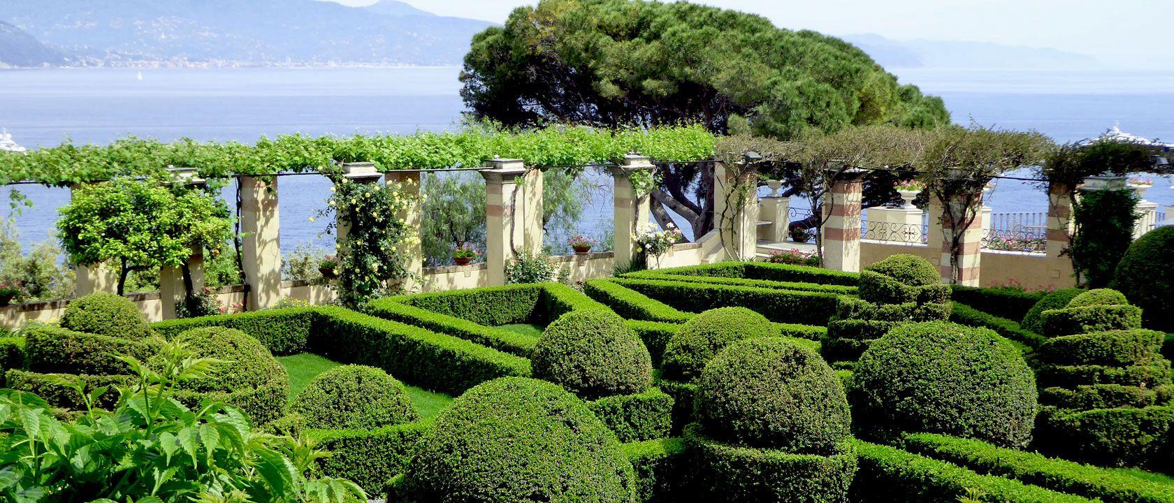 Gradina manastirii San Girolamo - Portofino