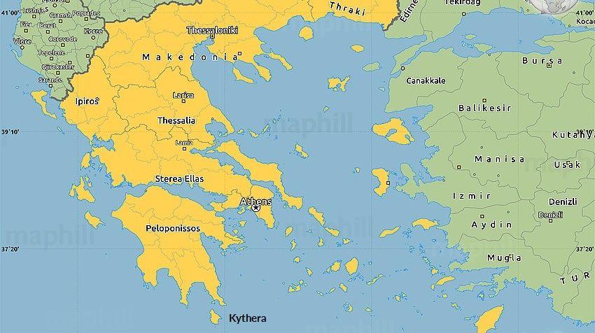 Insula Kythira Grecia Vacante De 5 Stele