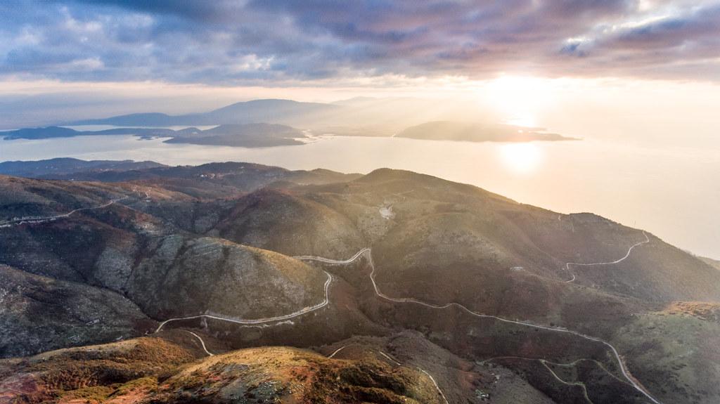 Muntele Pantokrator - Corfu