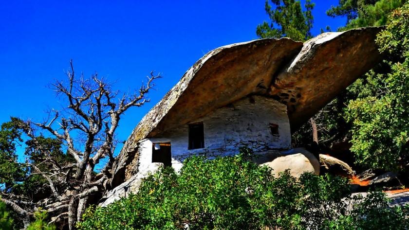 Panagia Theoskepasti - insula Ikaria, Grecia