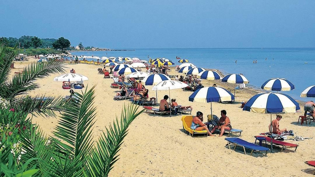 Plaja din Roda - Corfu