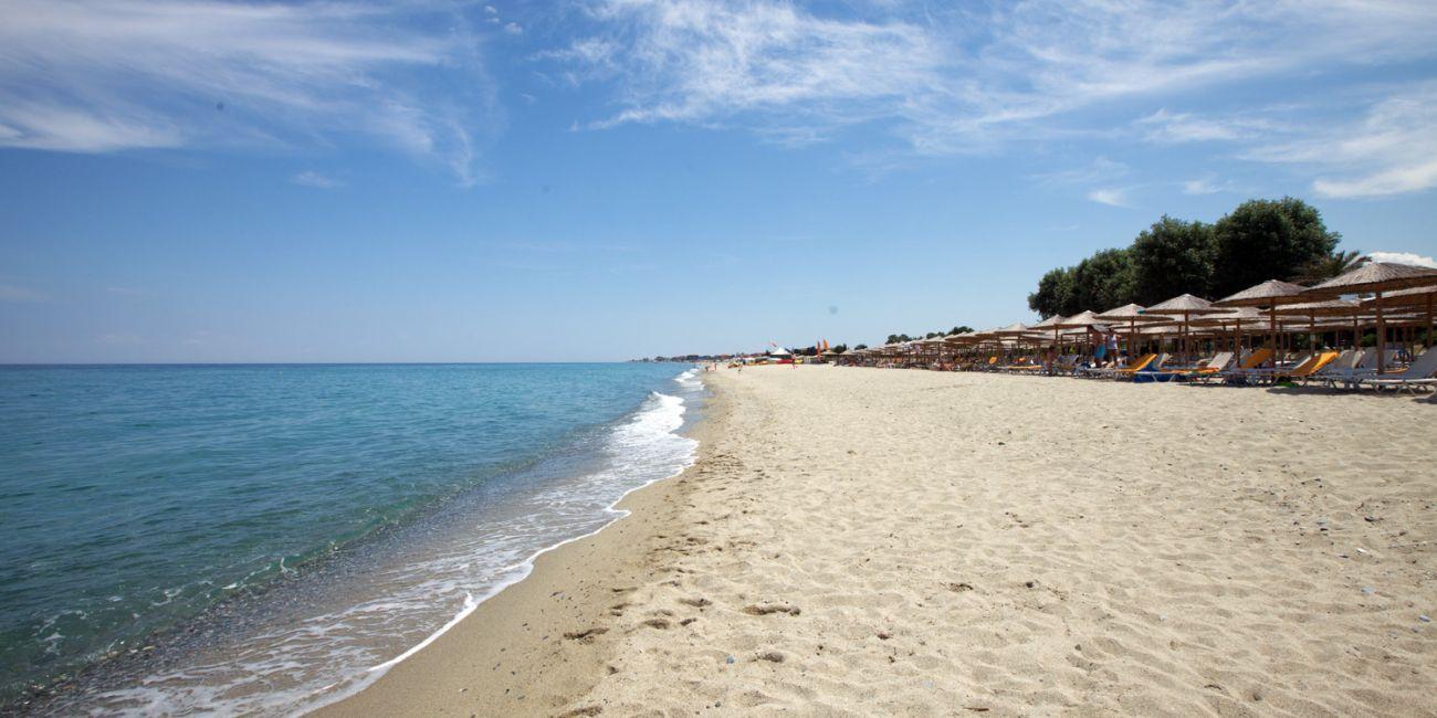 Plaja in Platamonas - Grecia
