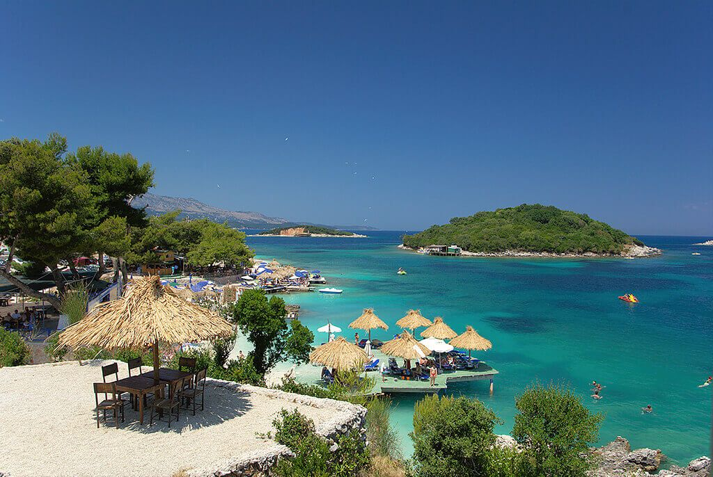 Plaja Ksamil - Albania