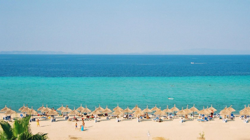 Plaja din Nikiti - Halkidiki