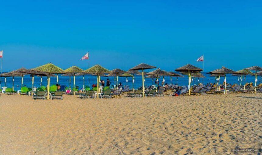 Plaja in Nea Potidea - Halkidiki