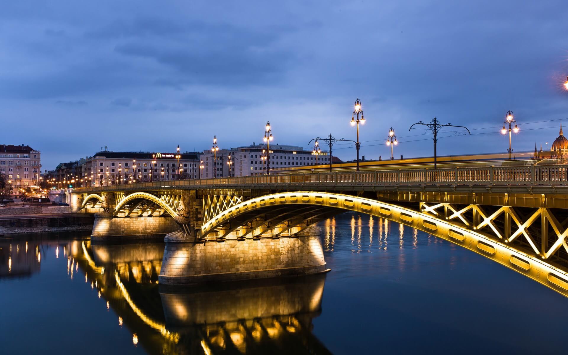 Podul Margareta - Budapesta