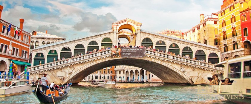 Podul Rialto - Venetia