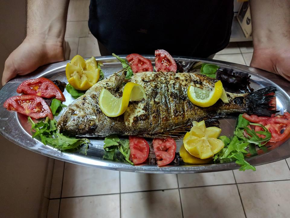 Preparate din peste - Taverna Sonia, Nikiti