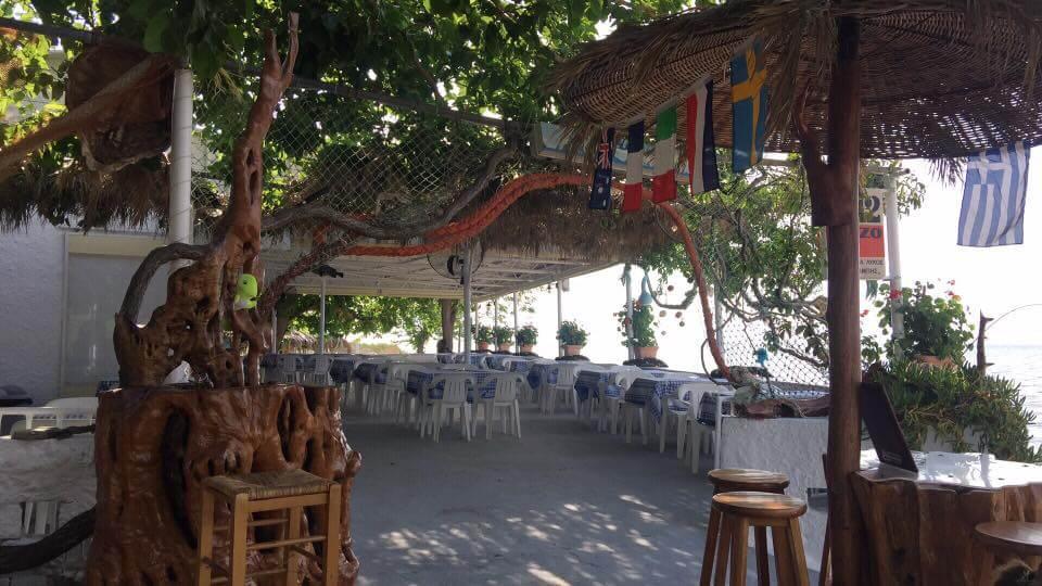 Taverna Lykos - Skala Rachoni, Thassos