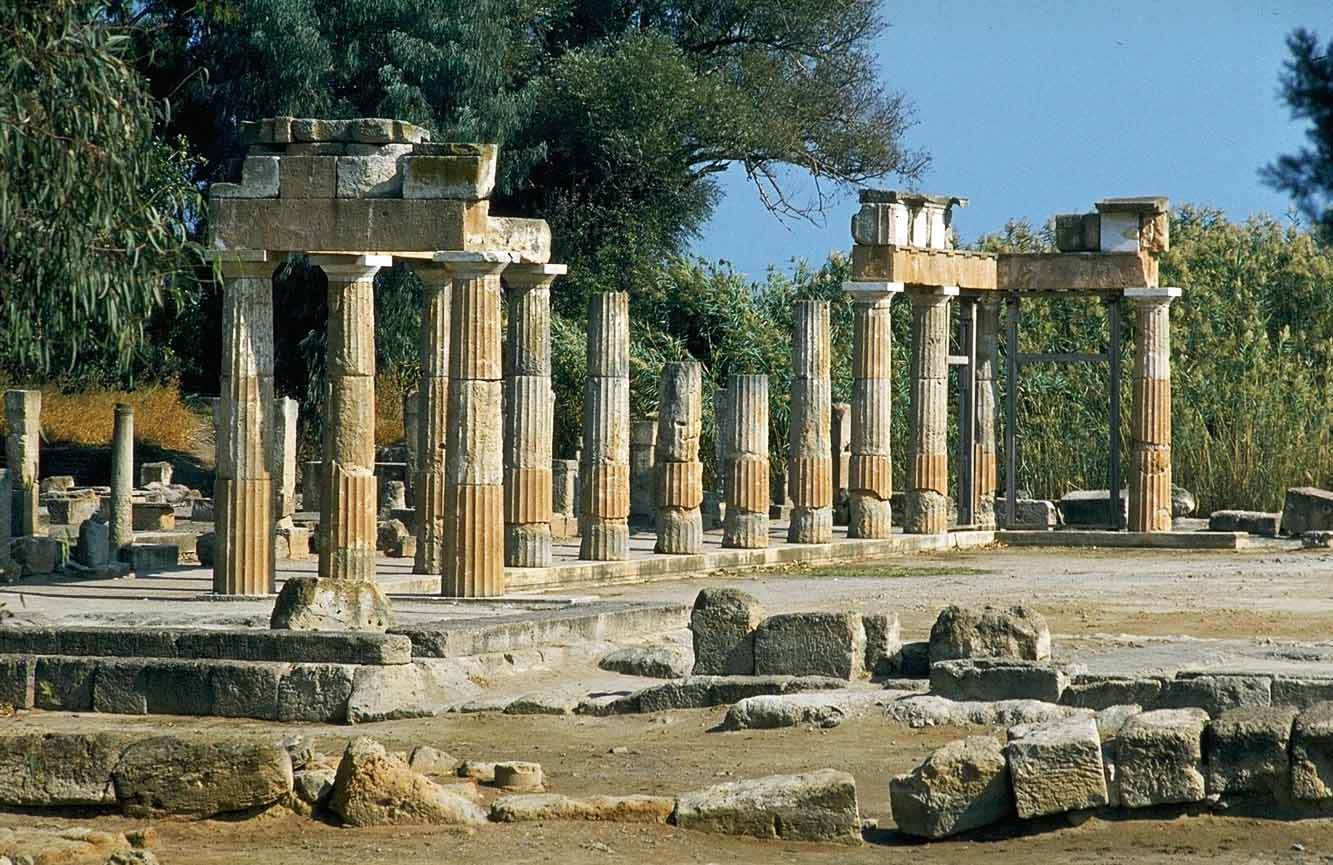 Templul Zeitei Artemis - Vravrona, Grecia