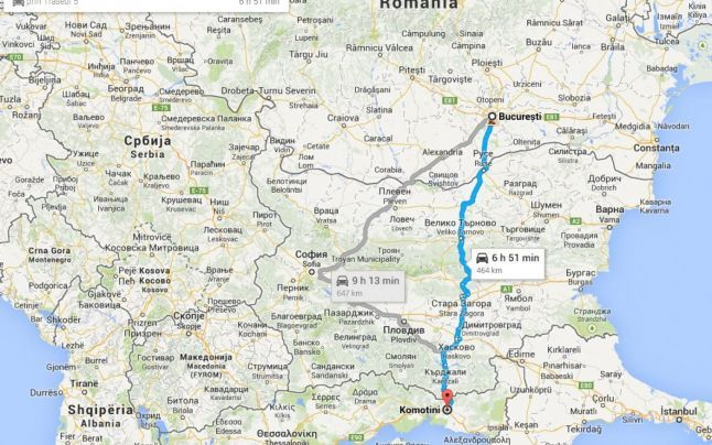 Drumul spre Grecia prin Makaza