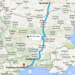 Traseu Bucuresti - Grecia prin Zlatograd