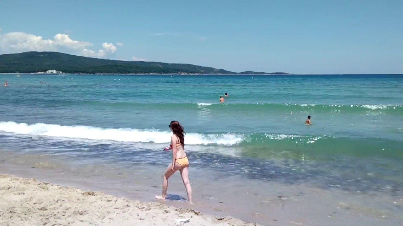 Plaja in Primorsko - Litoral Bulgaria