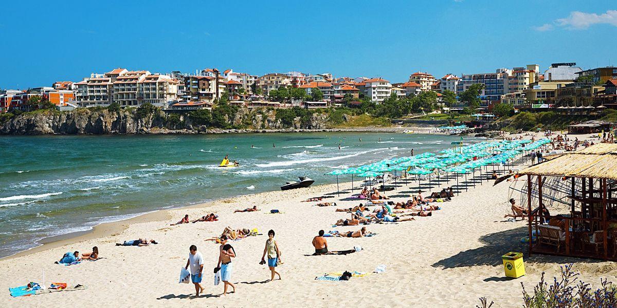Plaja in Sozopol - Bulgaria
