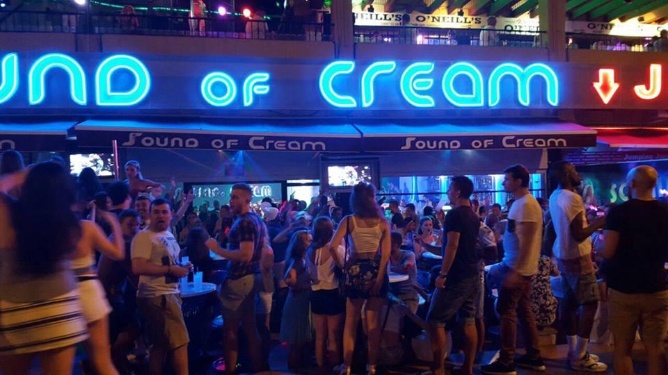 Sound of Cream, Playa de Las Americas - Tenerife