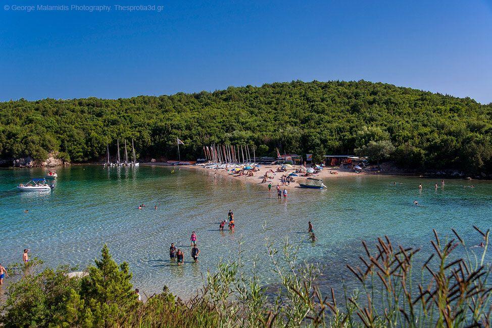 Plaja Bella Vraka - Sivota, Grecia