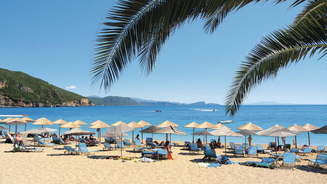 Plaja Lichnos - Parga, Grecia