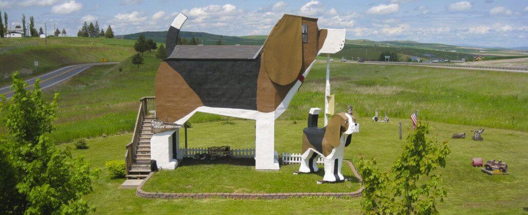 Dog Bark Park Inn - Idaho, SUA