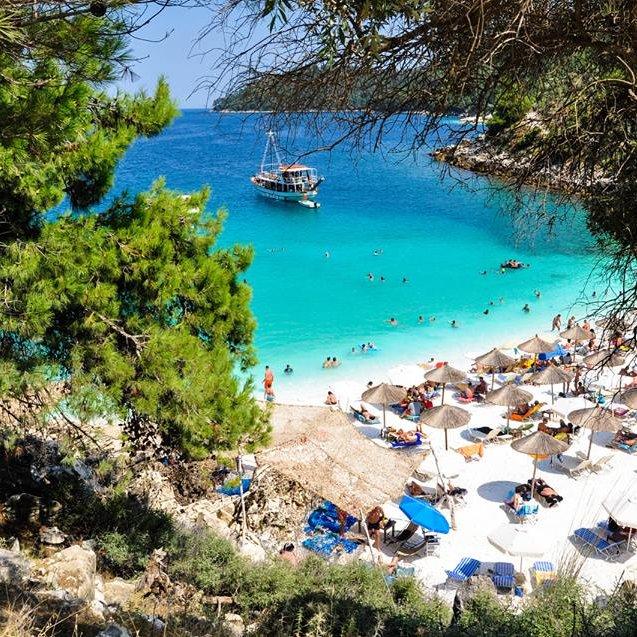 Marble Beach - insula Thassos