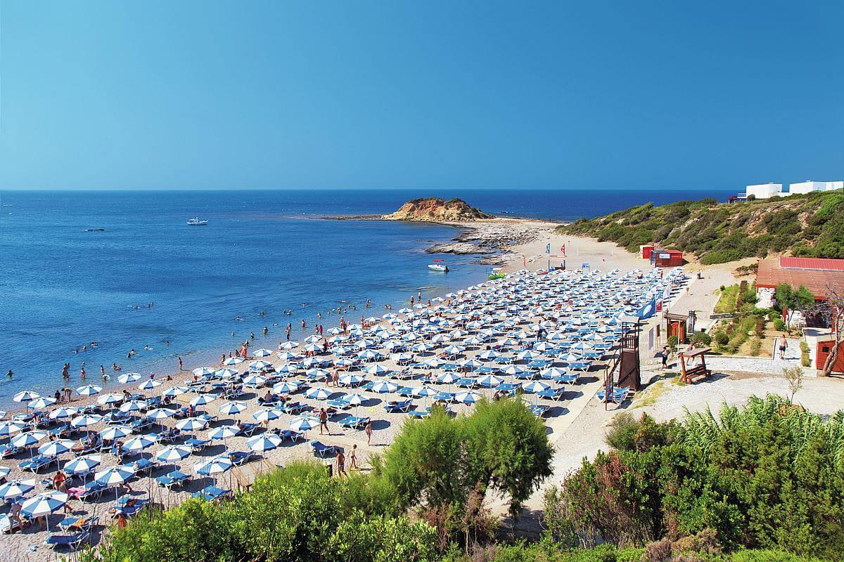 Plaja Kiotari - Rhodos