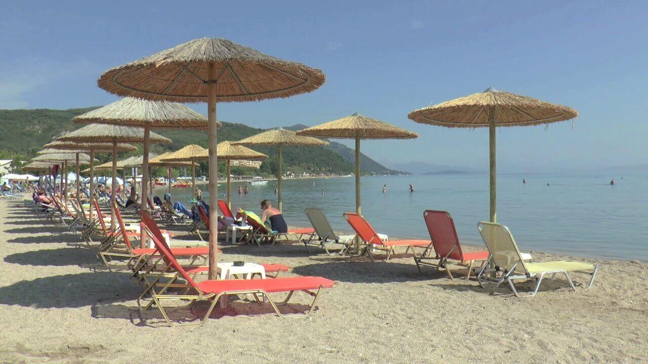 Plaja in Moraitika - Corfu
