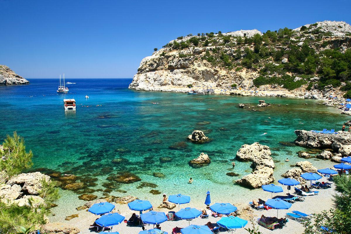 Plaja Anthony Quinn - insula Rhodos