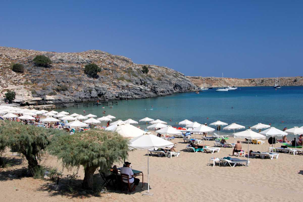 Vlicha Beach - Rhodos, Grecia