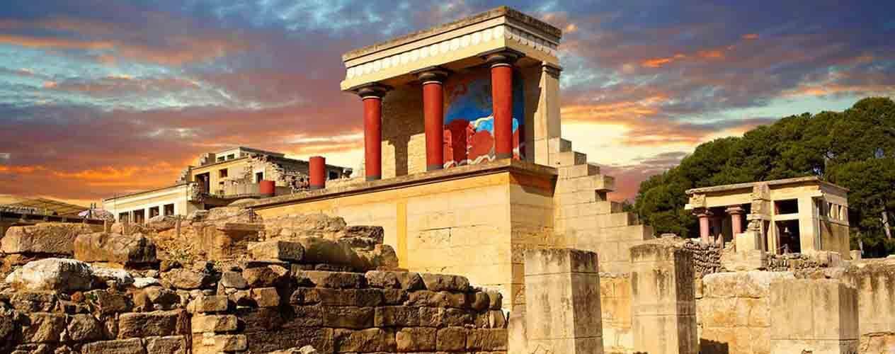 Palatul din Knossos - Creta