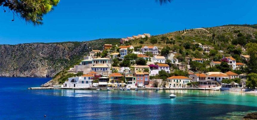 Fiskardo - insula Kefalonia, Grecia