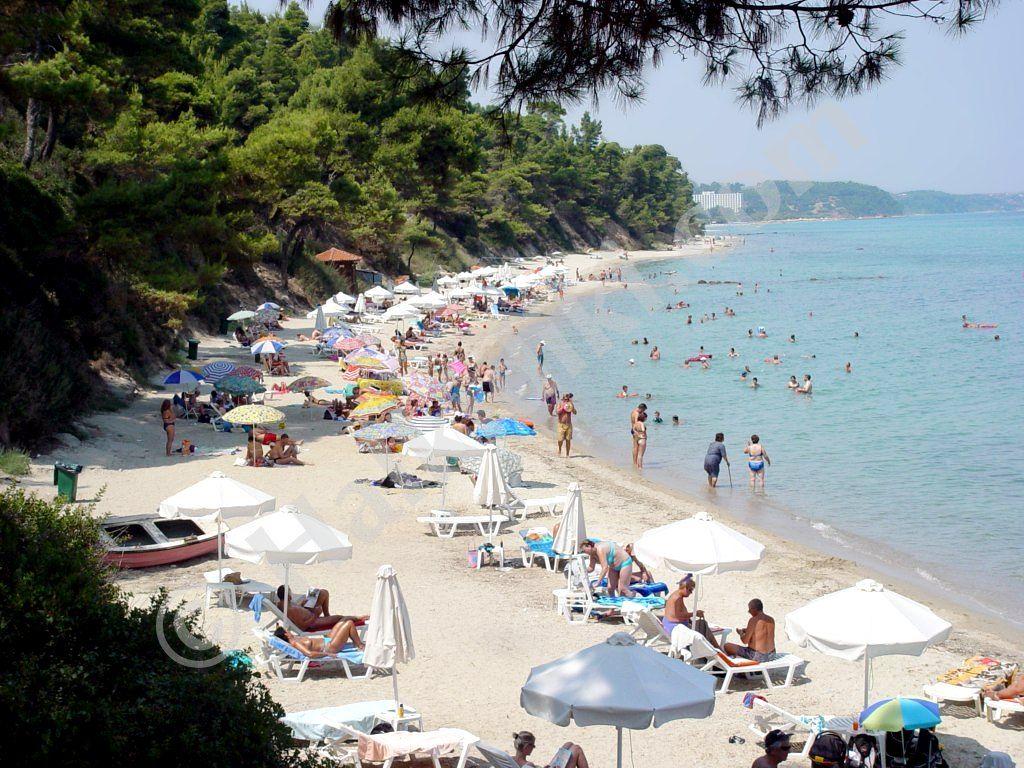 Plaja Kriopigi - Kassandra, Halkidiki