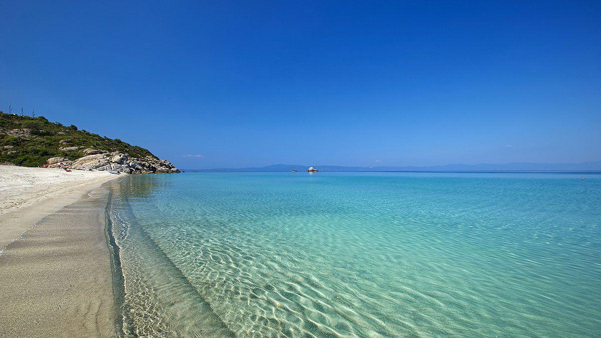 Plaja Nea Skioni - Kassandra, Halkidiki