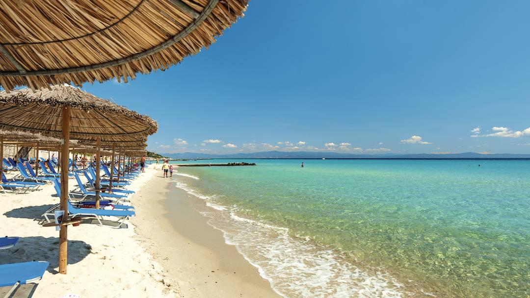 Plaja din Kallithea - Halkidiki