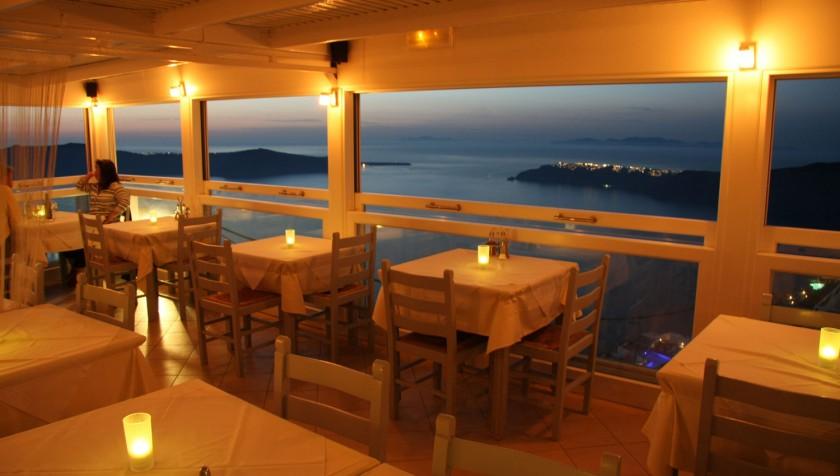 Restaurant Blue Note - Immerovigli, Santorini