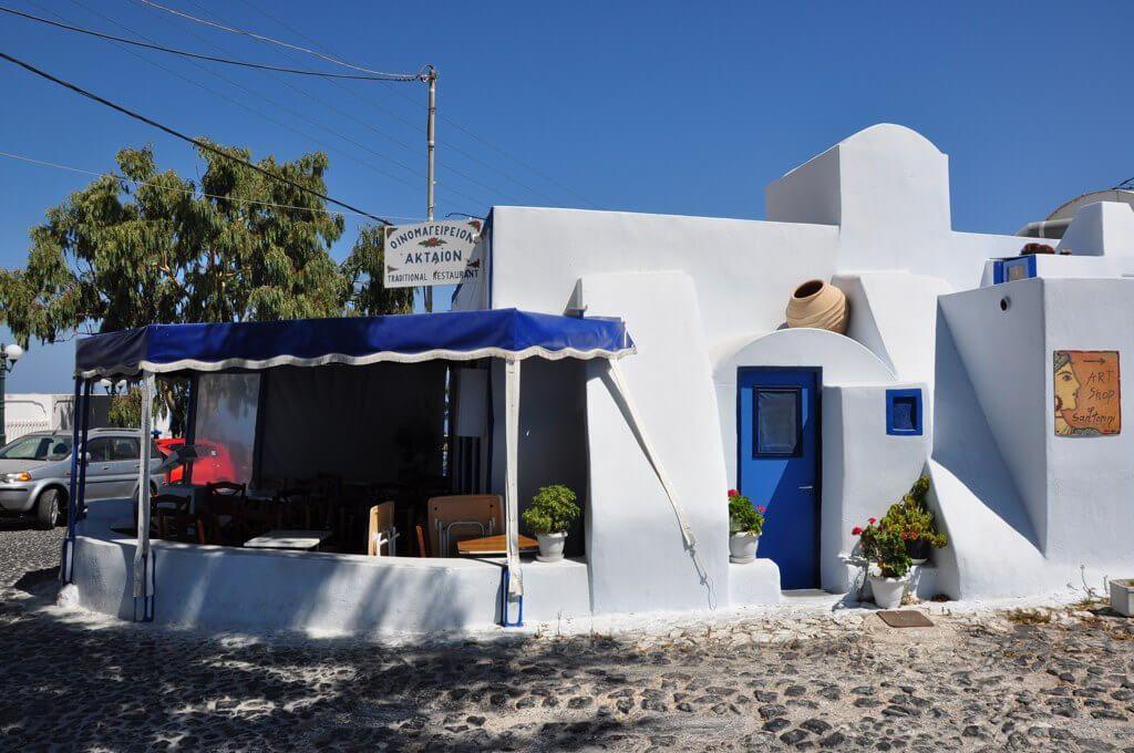 Taverna Aktaion - Firostefani, Santorini